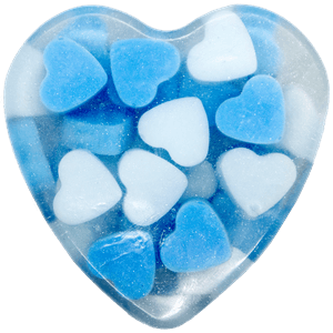 Image of Blue Sweetheart Soap