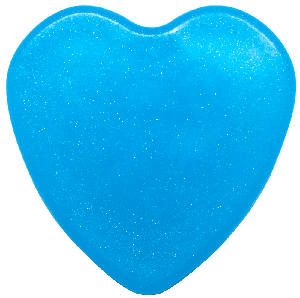 Image of Blue Twinkly Heart