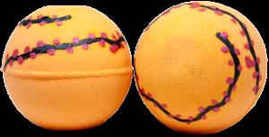 Image of Coco And Peach Bath Bomb Orange