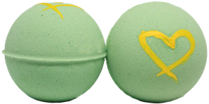 Image of Fruit Salad Bath Bomb Green