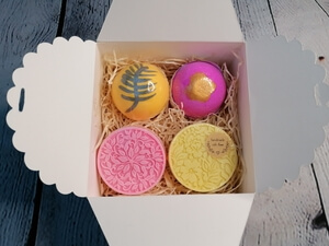 Image of Two Bath Bombs Two Soaps