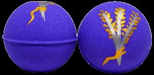 Image of Lavender Jasmine Bath Bomb Purple